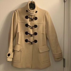 BR Pea coat with toggle buttons, XS